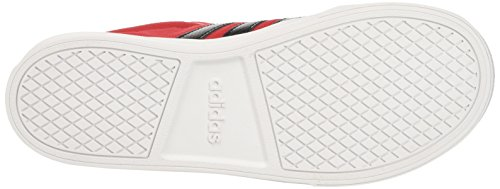 adidas VS SET K - Zapatillas deportivaspara niños, Rojo - (ESCARL/NEGBAS/FTWBLA), 34