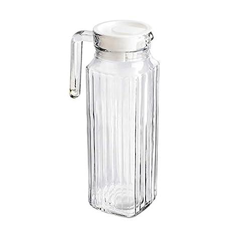 1.1L jarra de cristal puerta de la nevera jarra con tapa comprar 3 ...