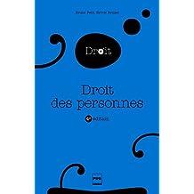 Droit des personnes: 4e édition (Le droit en plus) (French Edition)
