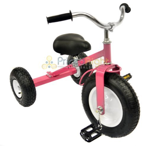 All Terrain Tricycle with Wagon (Pink), #CART-042P by Valley (Image #1)