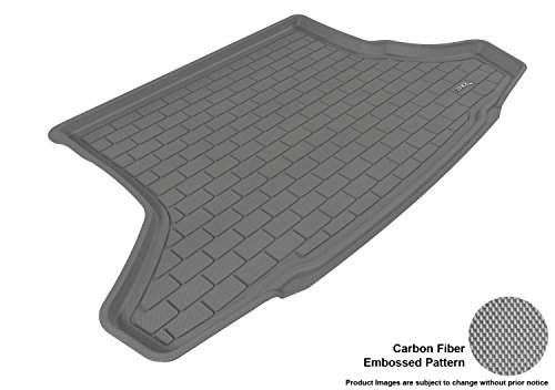 3D MAXpider M1TY0401301 Cargo Custom Fit All-Weather Floor Mat for Select Toyota Prius Models - Kagu Rubber (Gray)