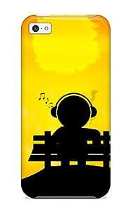 Iphone 5c Case Bumper Tpu Skin Cover For Music Art Accessories