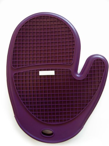 SiliconeZone Silicone Grid Oven Eggplant product image