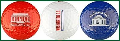 Washington DC Monument Variety Golf Ball Gift Set