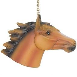 Horse Ceiling Fan Pull