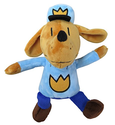 MerryMakers Dog Man Plush Toy, 9.5-Inch ()