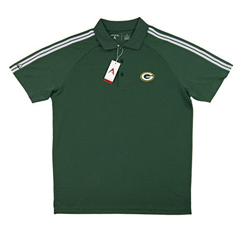 Force Performance Polo - Green Bay Packers Antigua Green Force Performance Polo (Adult X-Large)