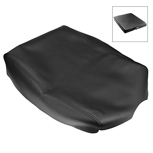 Titan Center - QKPARTS Leather Center Console Lid Armrest Cover For 2004-2014 Nissan Titan Black NEW