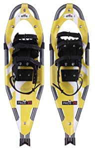 Redfeather Ladies Pace Summit binding Snowshoe (Yellow, 25)