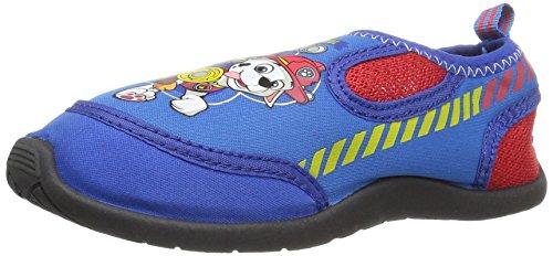 Nickelodeon Boys' Paw Patrol Water Shoe, Blue, 5/6 Medium US Toddler