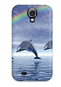 Case Cover Deidara's Shop 1288962K49087394 Galaxy S4 Dolphins Tpu Silicone Gel Case Cover. Fits Galaxy S4