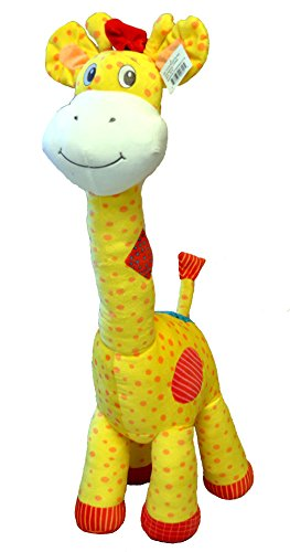 Plush Standing Giraffe - Large Plush Giraffe Stuffed Animal Toy ,Standing 32 inches by Bo-Toys