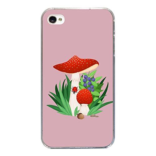 """Disagu SF-sdi-3815_1198#zub_cc3300 Design Schutzhülle für Apple iPhone 4S - Motiv """"Fliegenpilz 05"""""""