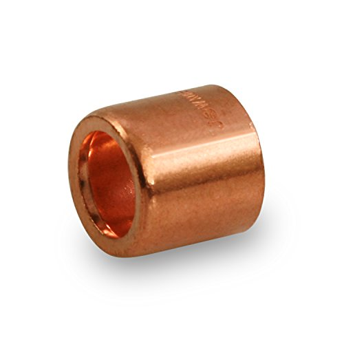 - Everflow Supplies FCFB0134 Flushing Bushing with with FTG to Sweat Connection Ends, 1 X 3/4, copper