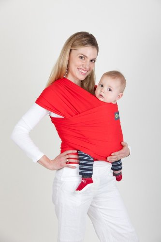 Amazon Com New Boba Wrap In Red With Matching Carrying Pouch