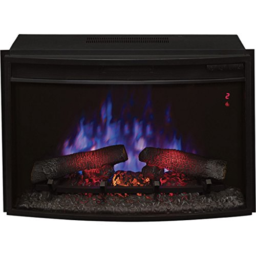 Cheap Twin Star Chimney Free 25EF031GRP SpectraFire Plus Curved Electric Fireplace Black Friday & Cyber Monday 2019