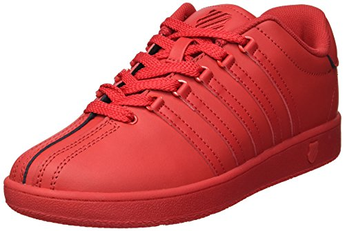 K-Swiss Baby Classic VN Sneaker, Ribbon red, 9.5 M US Toddler