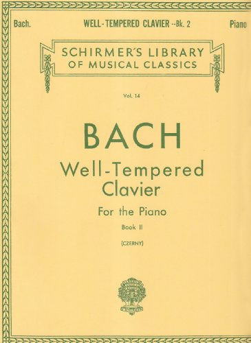 Well Tempered Clavier 48 Preludes and Fugues for the Piano Book 2 Vol 14 (Tapa Blanda)