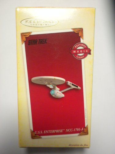 2005 Hallmark U.S.S. Enterprise NCC-1701A - Star Trek - M...