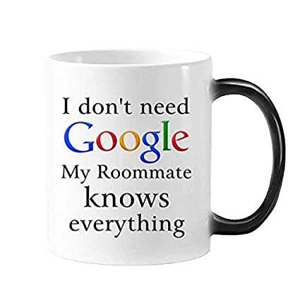 Amazon.com: Roommate Gifts 11 oz Humour Funny Tea Mug or ...