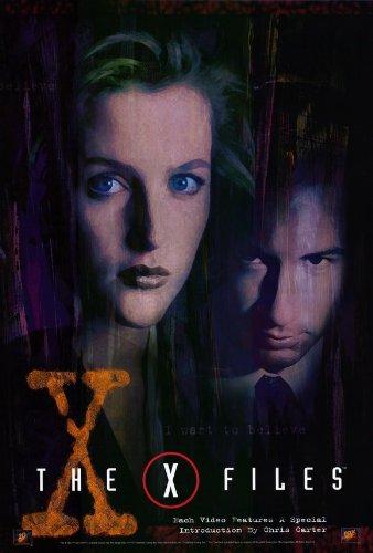 (27x40) The X-Files Gillian Anderson David Duchovny Original TV Poster Print
