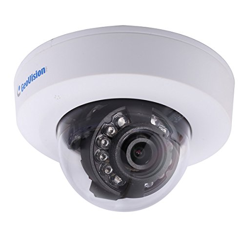 Geovision GV-EFD1100-2f | Target series 1.3MP 3.8mm, H.264, Low Lux, WDR, IR, IP Mini Fixed Dome Camera