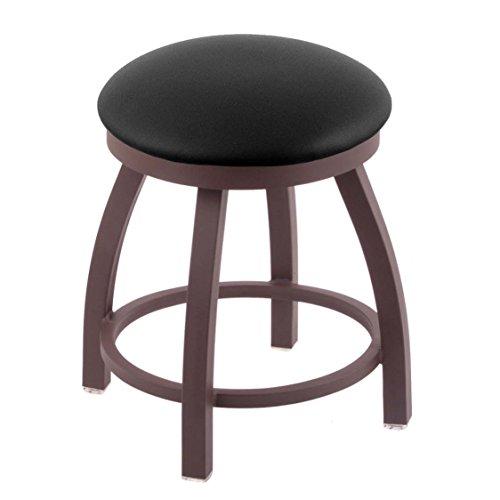 Holland Bar Stool Co. 802 Misha Vanity Stool with Bronze Finish and Swivel Seat, 18