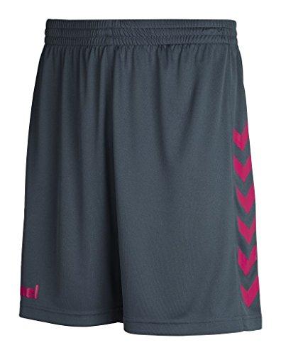 Hummel Jungen Core Poly Shorts, Dark Slate/Virtual pink, 164-176, 11-083-1080