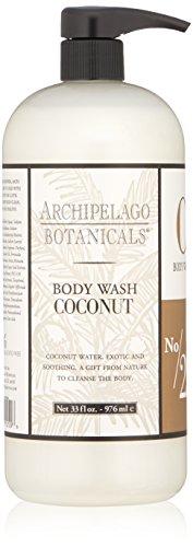 Healthy Soy Milk Shampoo - Archipelago Coconut  Body Wash, 33 Fl Oz