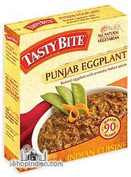 Tasty Bite Entree Indian Cuisine Punjab Eggplant, 10 Ounce