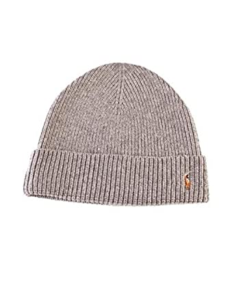 bf5d90feef4 Image Unavailable. Image not available for. Color  Polo Ralph Lauren Signature  Merino Cuff Hat ...