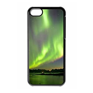 SYYCH Phone case Of Mysterious Arctic Aurora 1 Cover Case For Iphone 5C