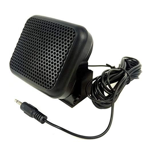 Shengerm Mini External Speaker NSP - for Yaesu for Kenwood for ICOM for Motorola Ham Radio CB Hf Transceiver External Speaker
