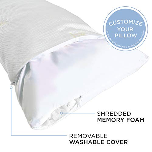 Milliard Bamboo Shredded Memory Foam Body Pillow