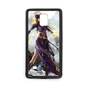 witch girl Samsung Galaxy Note 4 Cell Phone Case Black 53Go-266440