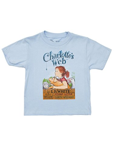 Out of Print Kids' Charlotte's Web T-Shirt 8 Year