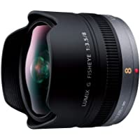 Panasonic LUMIX G FISHEYE 8mm/F3.5 Lens | H-F008 - International Version (No Warranty)