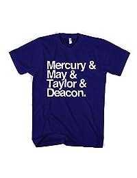 Old Skool Hooligans Mercury May Taylor & Deacon Names T Shirt