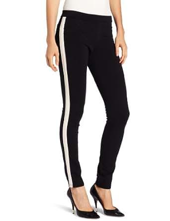 Sanctuary Clothing Women's Tuxedo Grease Legging, Black/Opal, Medium