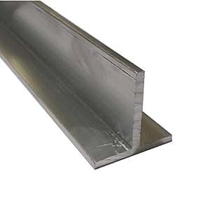 Andreas Ponto aluminio perfil T, grosor: 4mm, aluminio pressblank, 300x 4x 4cm, 425095582911