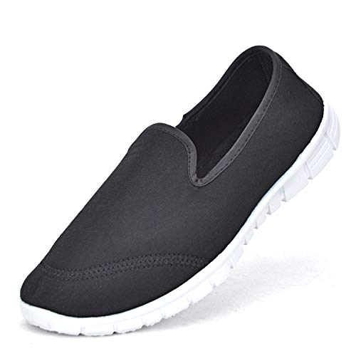 Women Lightweight Slip on Ladies Casual Canvas Breathable Walking Shoes