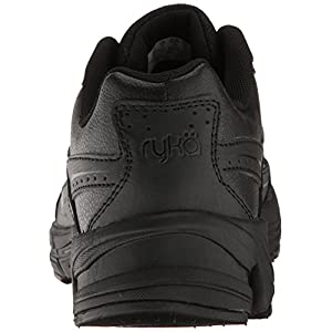 RYKA Women's Comfort Walking Shoe, Black, 9.5 M US