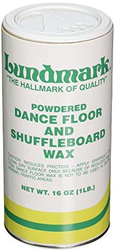 Lundmark Powdered Dance Floor & Shuffleboard Wax, 1-Pound, 3224P001