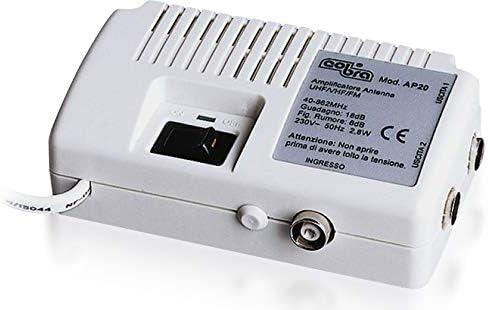 amplificador y duplicador de Antena de TV, Cobra, mod. AP20 ...