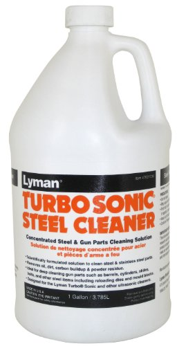 Lyman Products Turbo Sonic Gun Parts Cleaning Concentrate, 1-Gallon