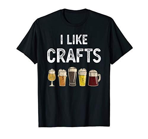 I LIKE CRAFTS | Vintage T-Shirt for Beer-Lovers