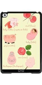 Funda para Apple Ipad Mini 4 - Colores: Rosa by Los dibujos de Alapapaju
