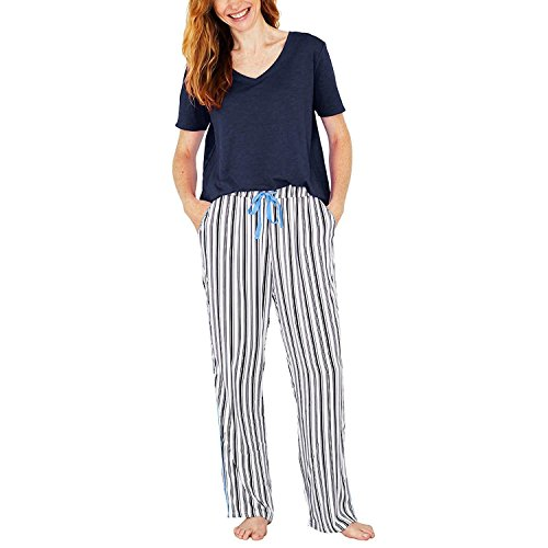 Splendid Ladies' 2-Piece Lounge Set (Dark Blue, M) (Lounge 1 2)