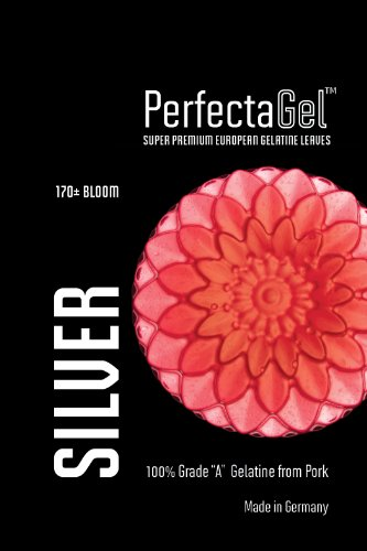 - PerfectaGel Silver Gelatin Sheets (170 Bloom) - 1kg [400 sheets]