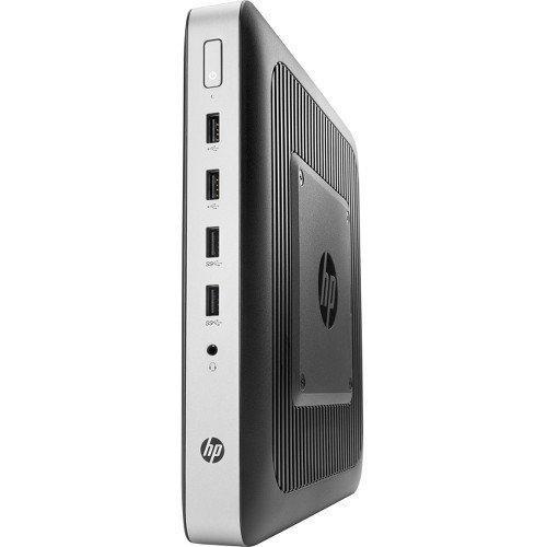 HP 3BG77UT t630 - Thin client - tower - 1 x GX-420GI 2 GHz - RAM 4 GB - flash 16 GB - Radeon R7E - GigE - Win Embedded Standard